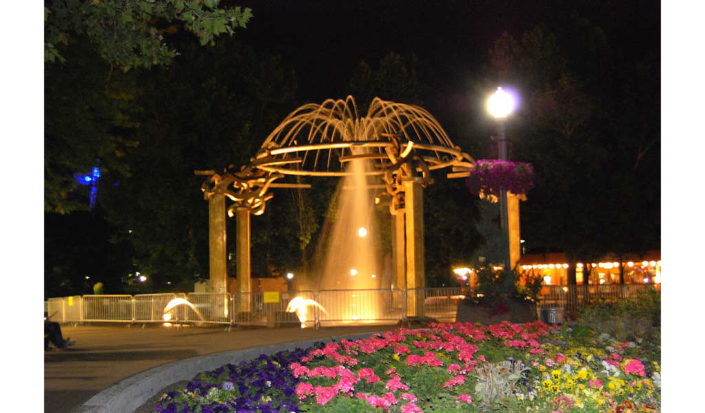Riverfront Park Fountain