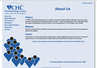 CHC Website and Blog